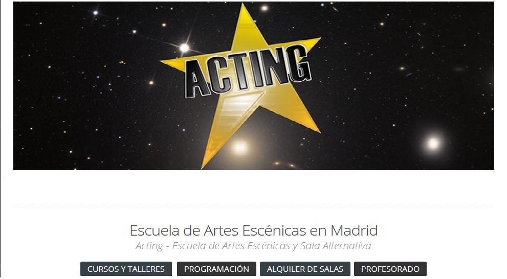 Bailes Novios Madrid- Sala Acting